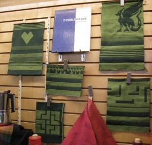Double weave Library Display November 2020