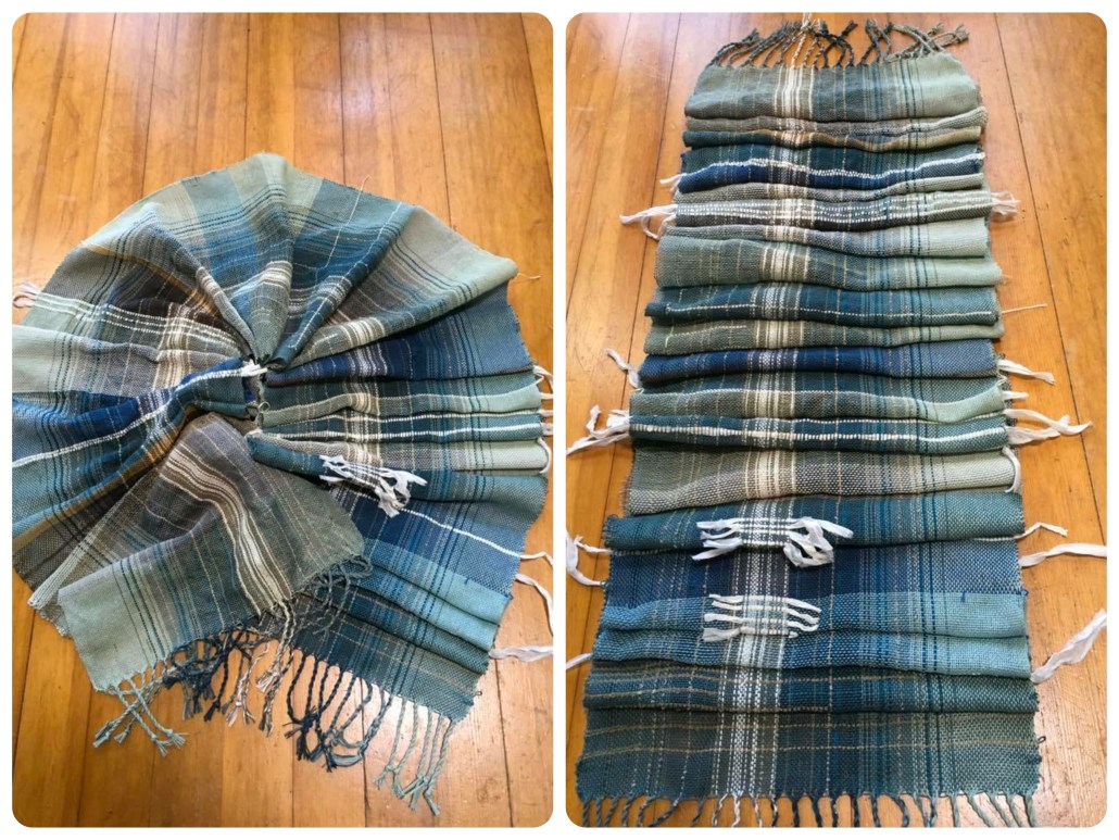 Saori weaving by Terri B