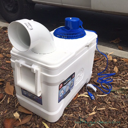 Easy to build DIY travel Air Conditioner
