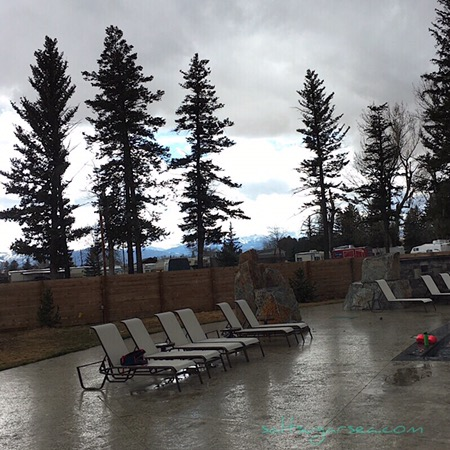 Hot Springs camping Bozeman Mt