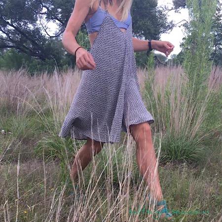 Simple life Birthday in blue high heels