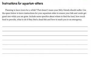 Screenshot from Reef Journal
