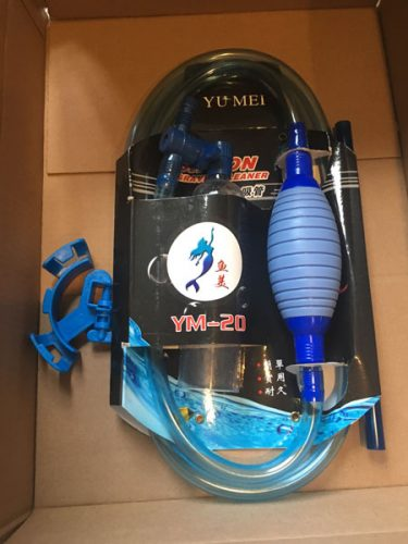 Gravel vacuum unwrapped YM-20