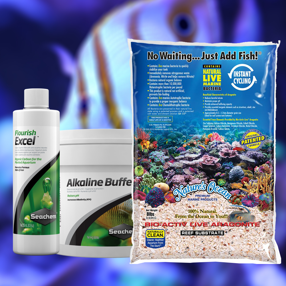 Saltwater Aquarium Suppletment and Supplies - Aquatic Treasures of Southern, Nevada