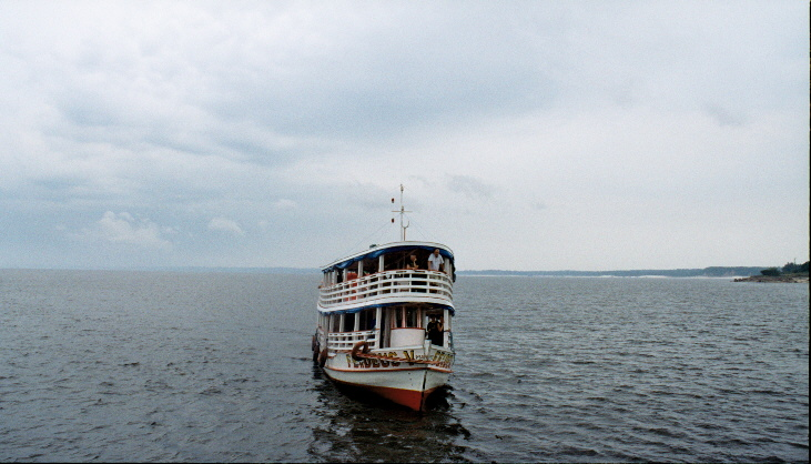 Amazon river boat