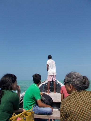 Lakshadweep boat journey
