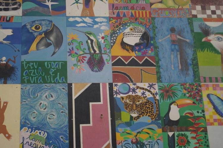 mural in Bonito