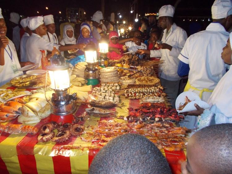 Forodhani night market