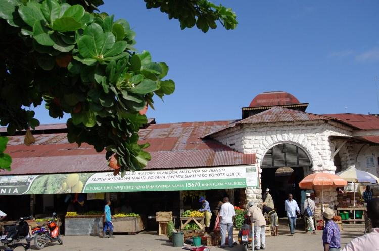 Market in Stone Town, Zanzibar