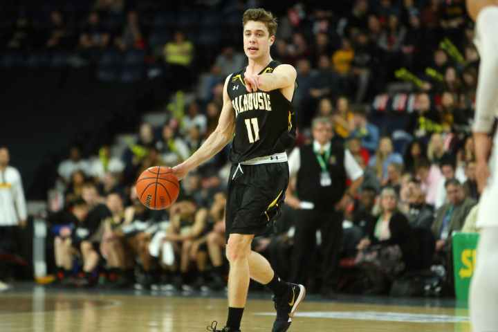 Keevan Veinot led the Dalhousie Tigers to a conference championship with an MVP performance.