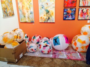 Cave and Matisse Lanterns