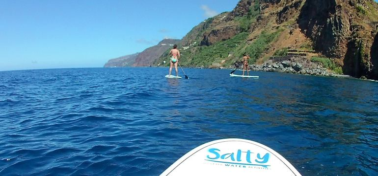 Stand up Paddle in Madeira Island