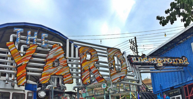Food Park in Manila