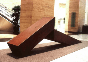 Reclining Blocks by Reg Yusson
