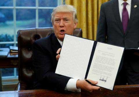 Trump immigration executive order