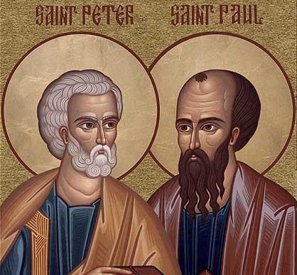 Apostle Peter blocked Paul on Social Media
