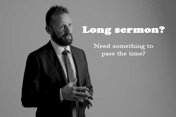 boring sermon