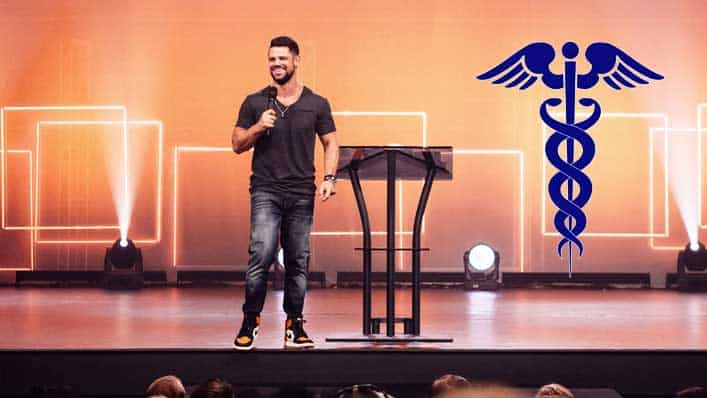 Steven Furtick Experiences Revival Due to Miracle of Modern Medicine