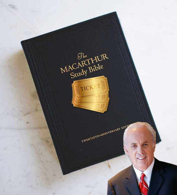 John MacArthur Golden Ticket Successor Competition