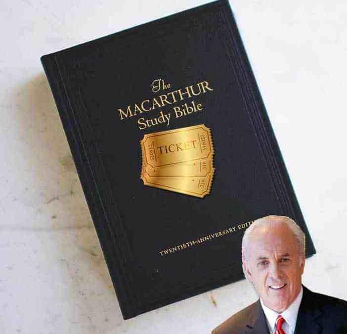 John MacArthur Golden Ticket Successor Competition
