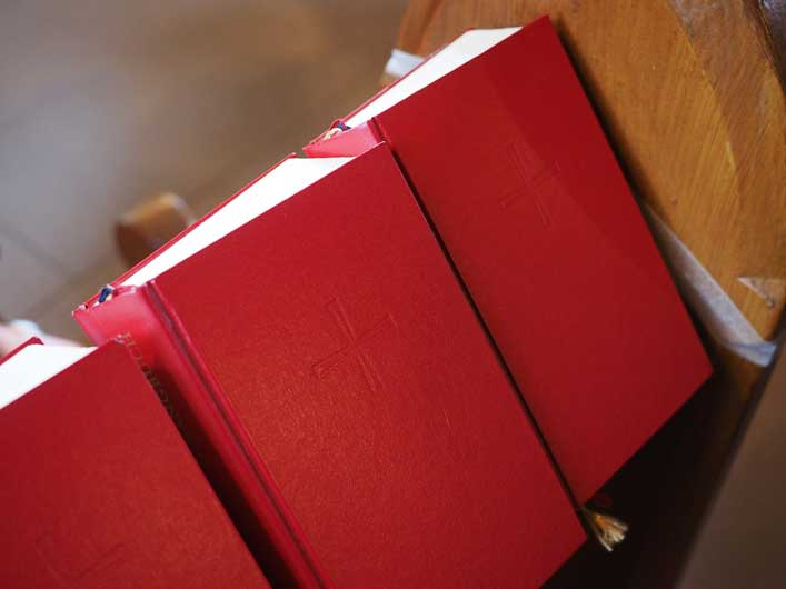 New Hymnal Contains Only Third Verse and Chorus