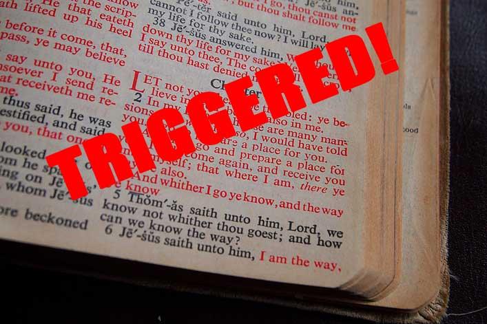 Millennials in Congregation Triggered When Pastor Quotes KJV