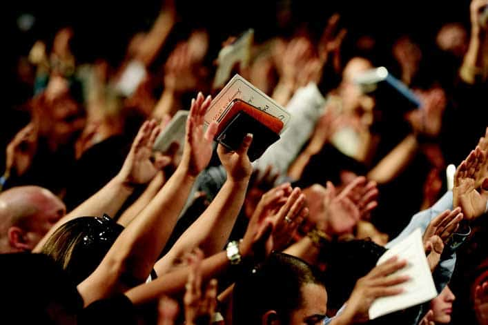 Congregation Confused After Singing Song a Second Time