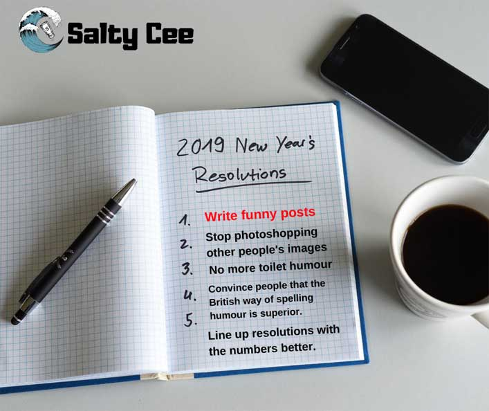 Satirical website breaks new year's resolutions in first article