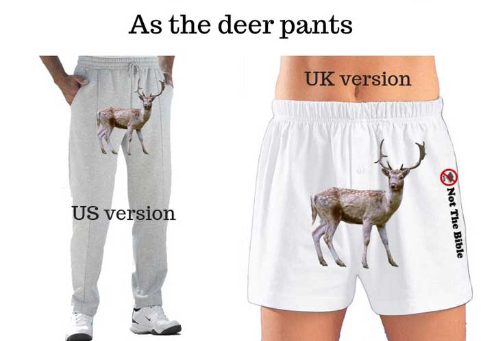 as the deer pants