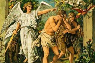 Adam and Eve celebrate original independence day