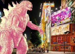 Pumpkin Spice monster attacks Tokyo