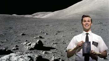 Mormons land on the moon!