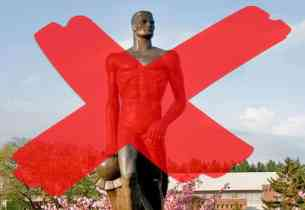 """Michigan State University to drop """"Sparty"""" after statue protest"""