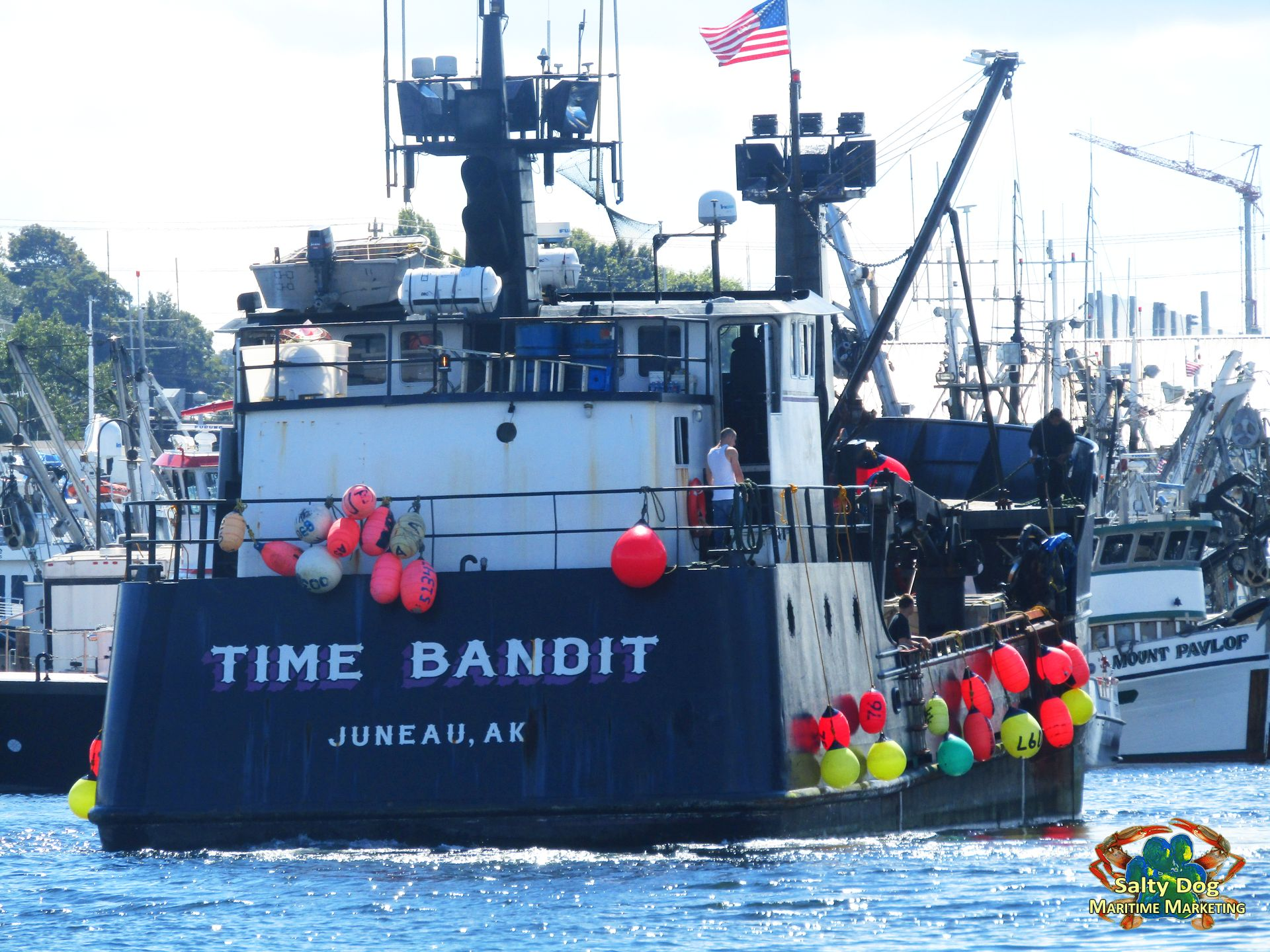 Destination Crab Boat Time Bandit Brenna A Deadliest