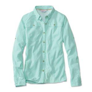 women's long sleeve fishing shirt clearwater