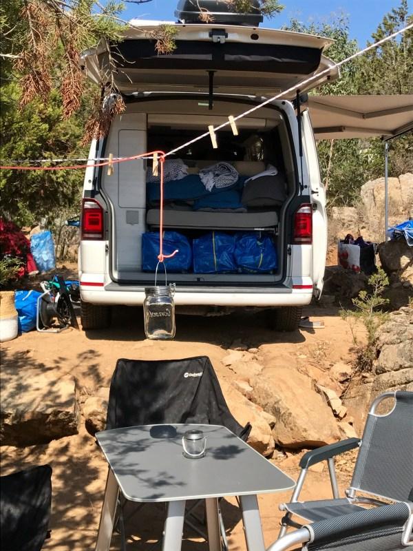 Tage 24 bis 27: Camping Rondinara, Südostküste Korsika, km 4.200