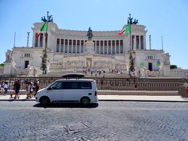 Tag 37 - Fahrt von Rom nach Siena, Siena Camping Colloverde, km 5.700