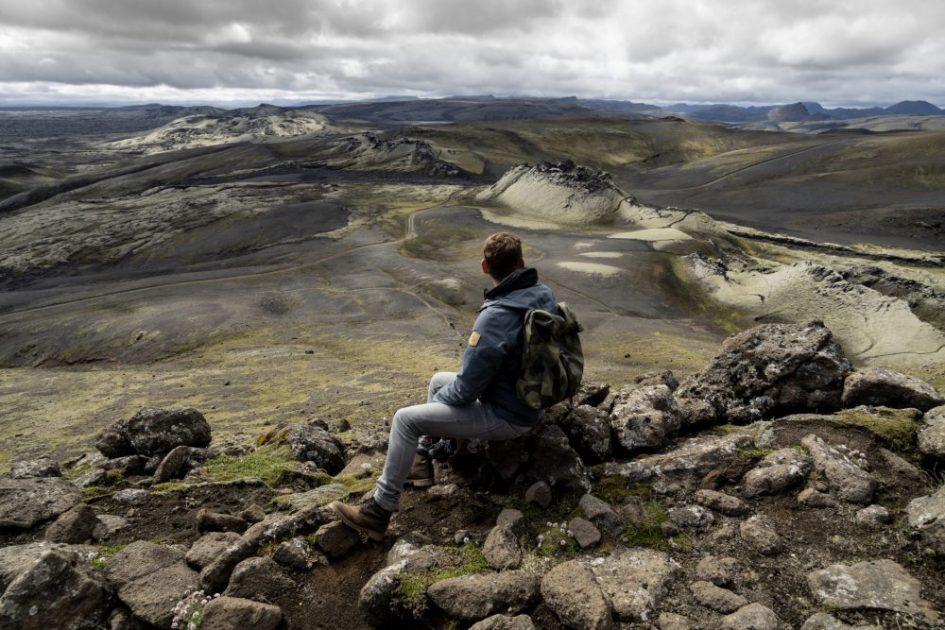 Laki Krater Aussicht
