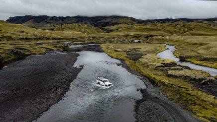 Island Hochland Furten