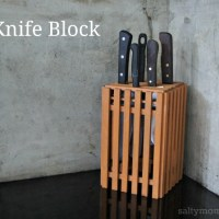 DIY a Knife Block (Daiso Hack)