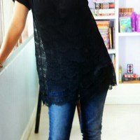 DIY : Lacy T-shirt