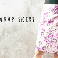 DIY : Sew a Wrap Skirt