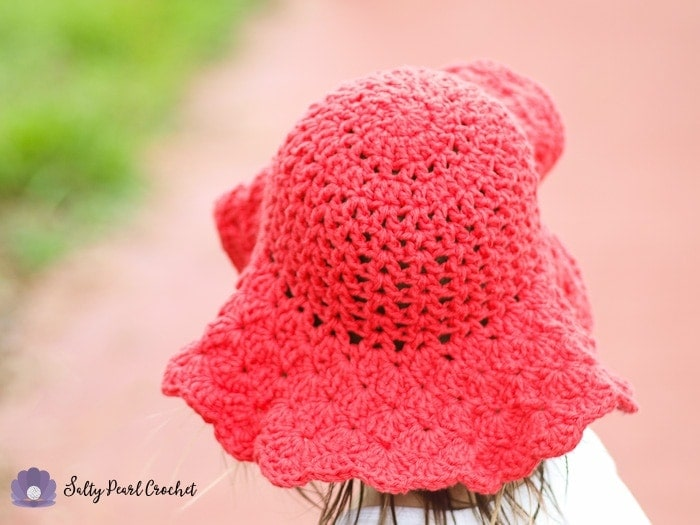 Find the free toddler hat pattern on SaltyPearlCrochet.com!