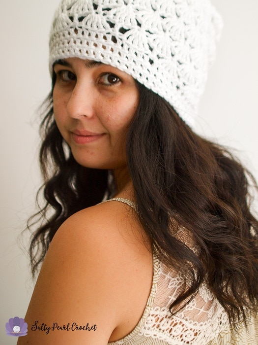 Venus Shell Slouch Hat Crochet Pattern Free Crochet Beanie Pattern
