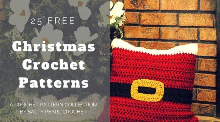 25 Christmas Crochet Patterns Salty Pearl Crochet