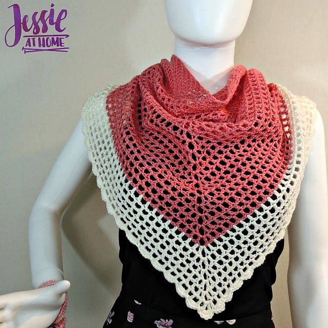 11 Easy Crochet Shawl Patterns Jessie at Home • Salty Pearl