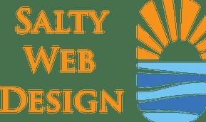 salty web design seo logo