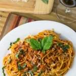 Quick Italian Sausage Spaghetti