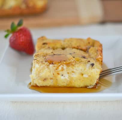 Baked French Toast with Cream Cheese
