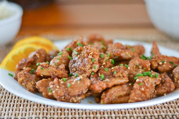 Chinese Orange Chicken - Salu Salo Recipes